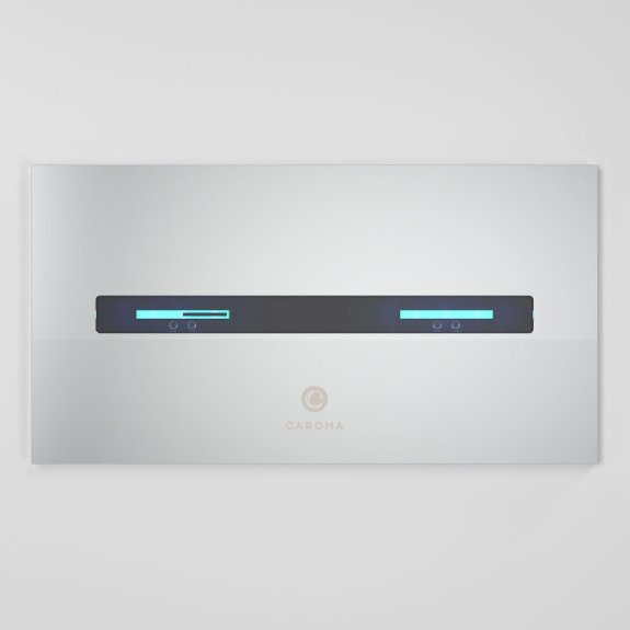 Smart Command Invisi II Panel - Chrome