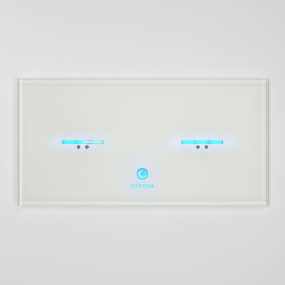 Smart Command Invisi II Panel - White