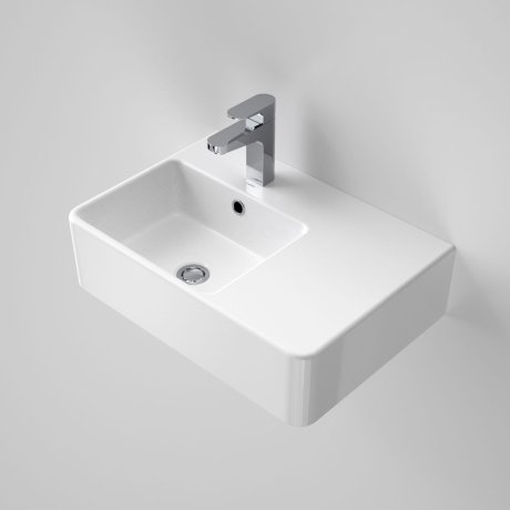 Cube Extension Wall Basin RHS 1TH