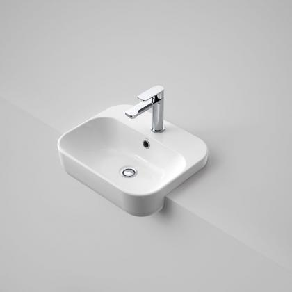 Luna Semi Recessed Basin 1TH