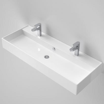 Teo 1200 Wall Basin 2TH