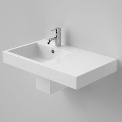 Liano Nexus 750 Wall Basin RHS 1TH