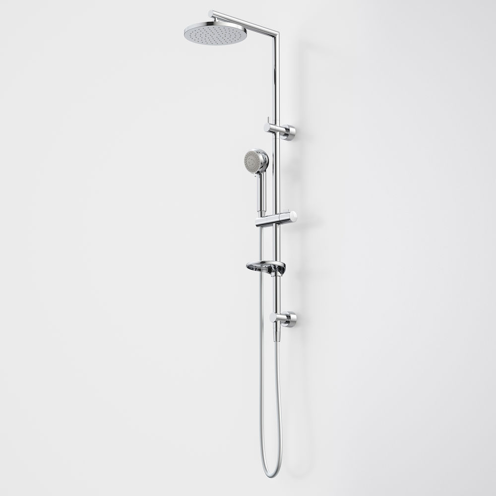 Urbane Multifunction Rail Shower with Overhead