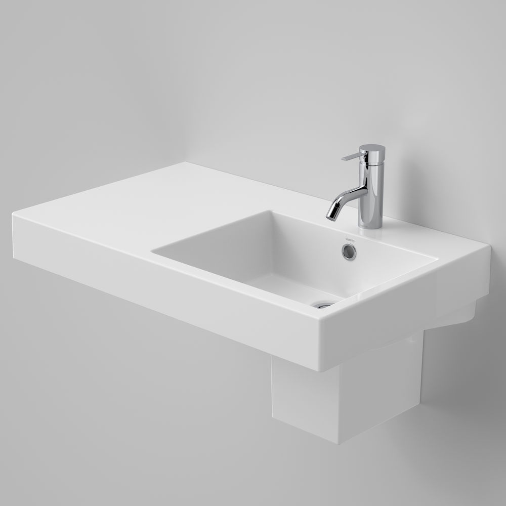 Liano Nexus 750 Wall Basin LHS 1TH