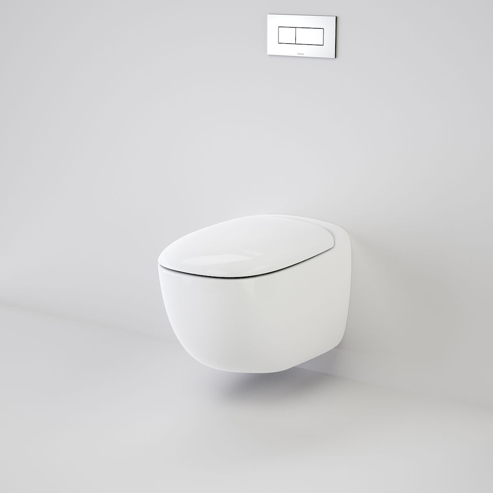 Contura Wall Hung Invisi Series II® Toilet Suite