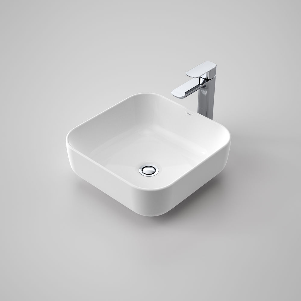 Artisan Above Counter Basin Square 390mm Caroma