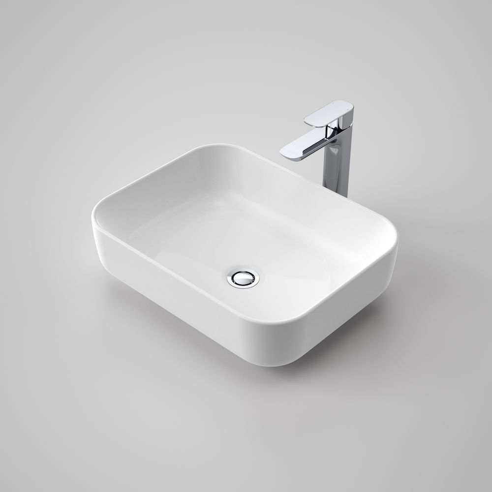 Artisan Above Counter Basin - Rectangle 490mm