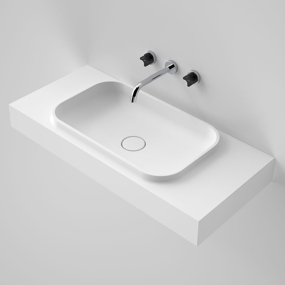Sunstone 900 Solid Surface Wall Basin