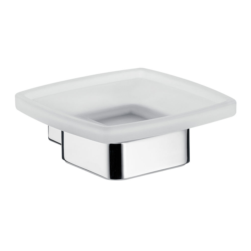 Emco Loft Glass Soap Holder | Caroma
