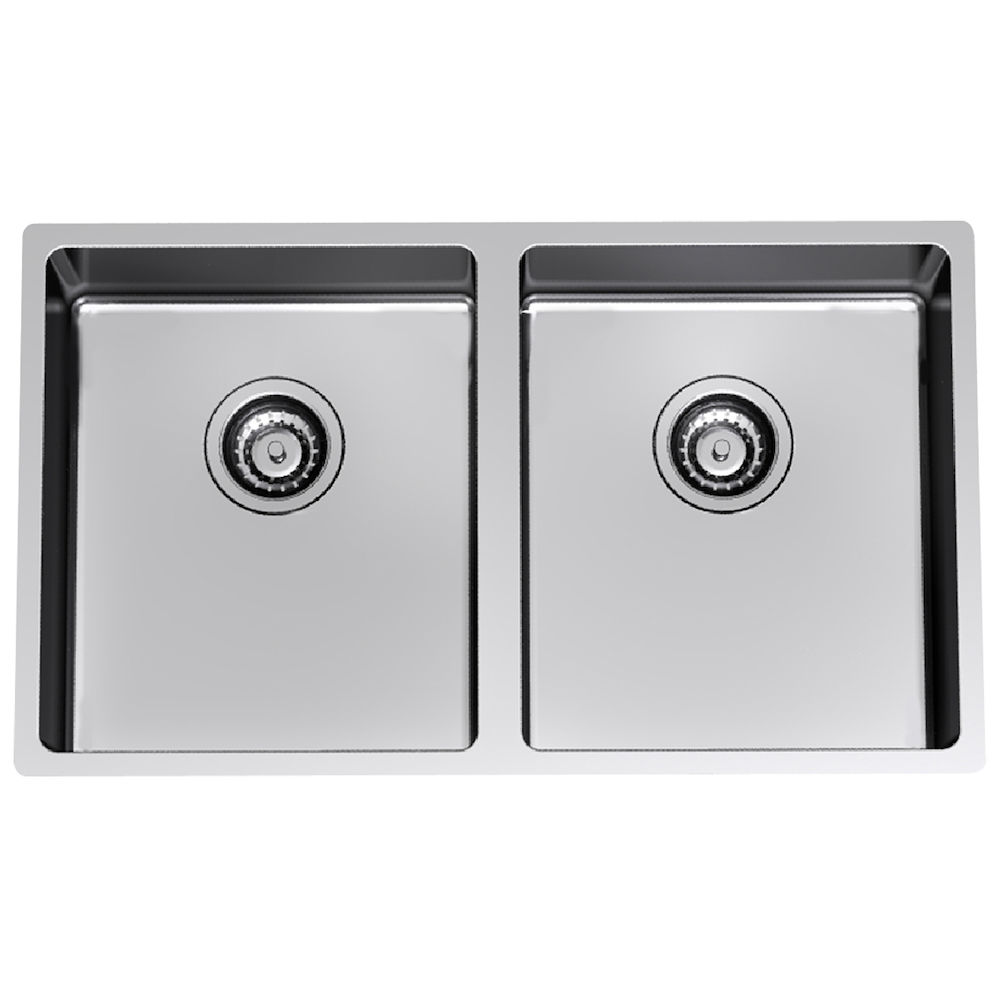 Evolution Double Bowl Undermount Clark