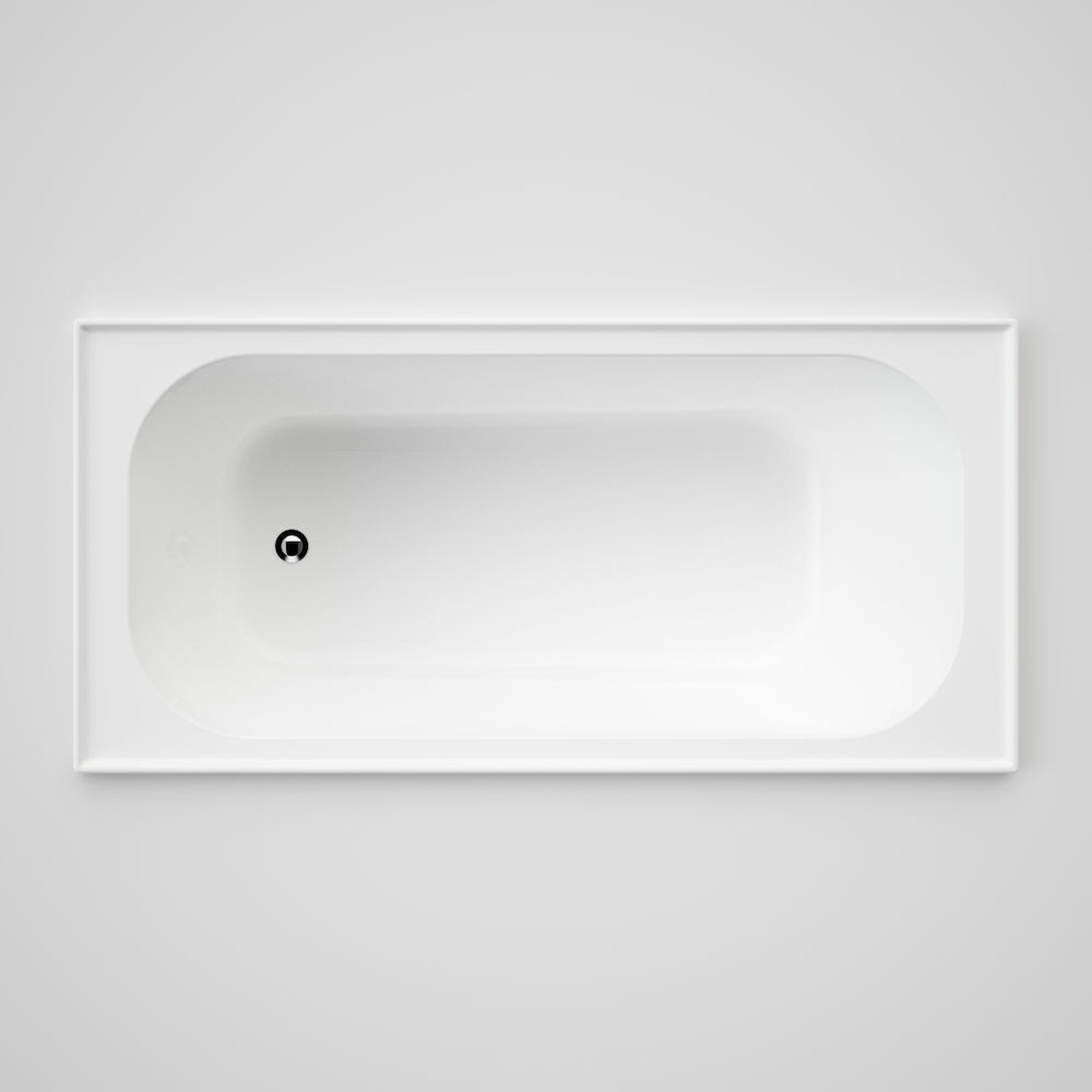 Luna 1525 Four Tile Flange Bath | Caroma