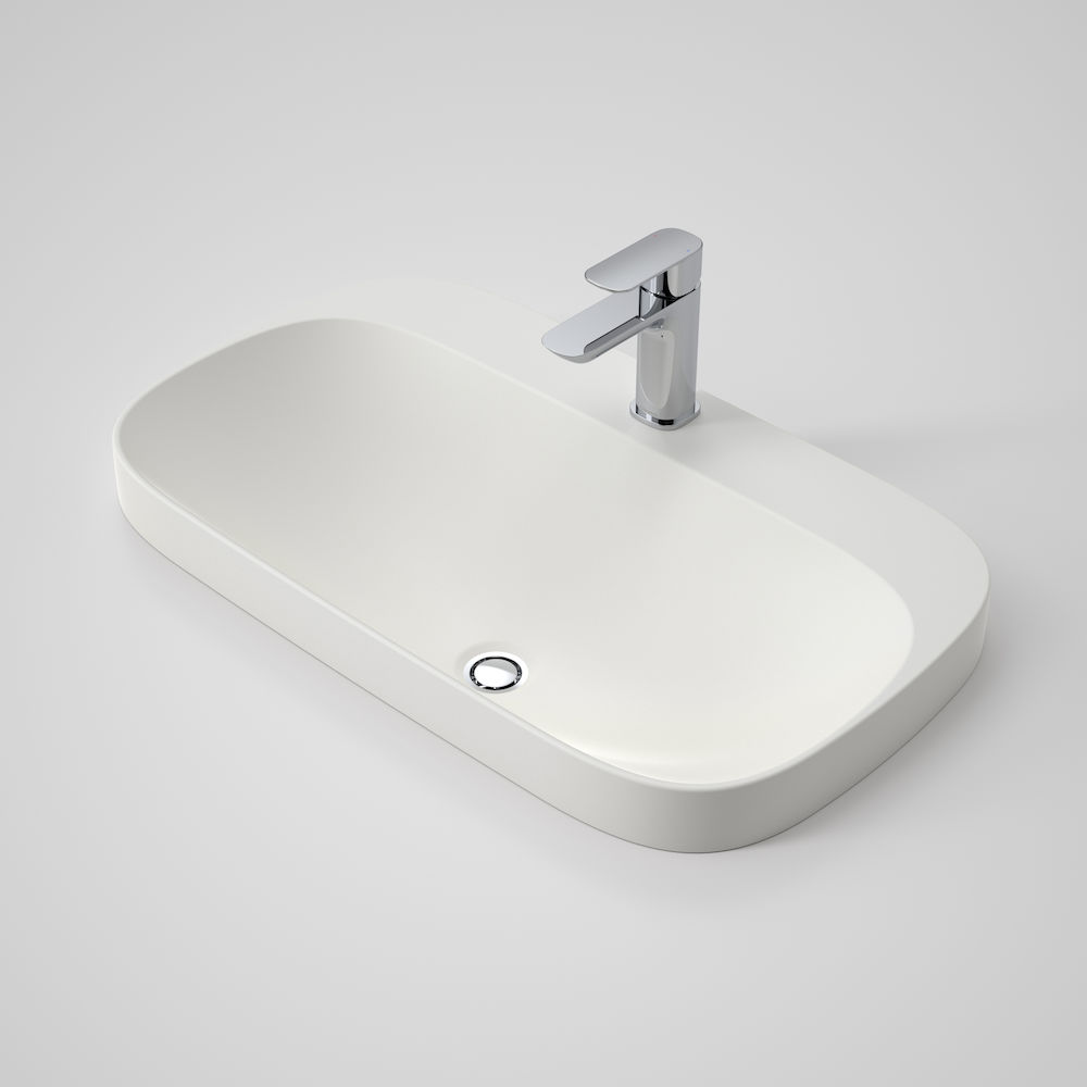 Moon 700 Inset Basin 1TH Pearl