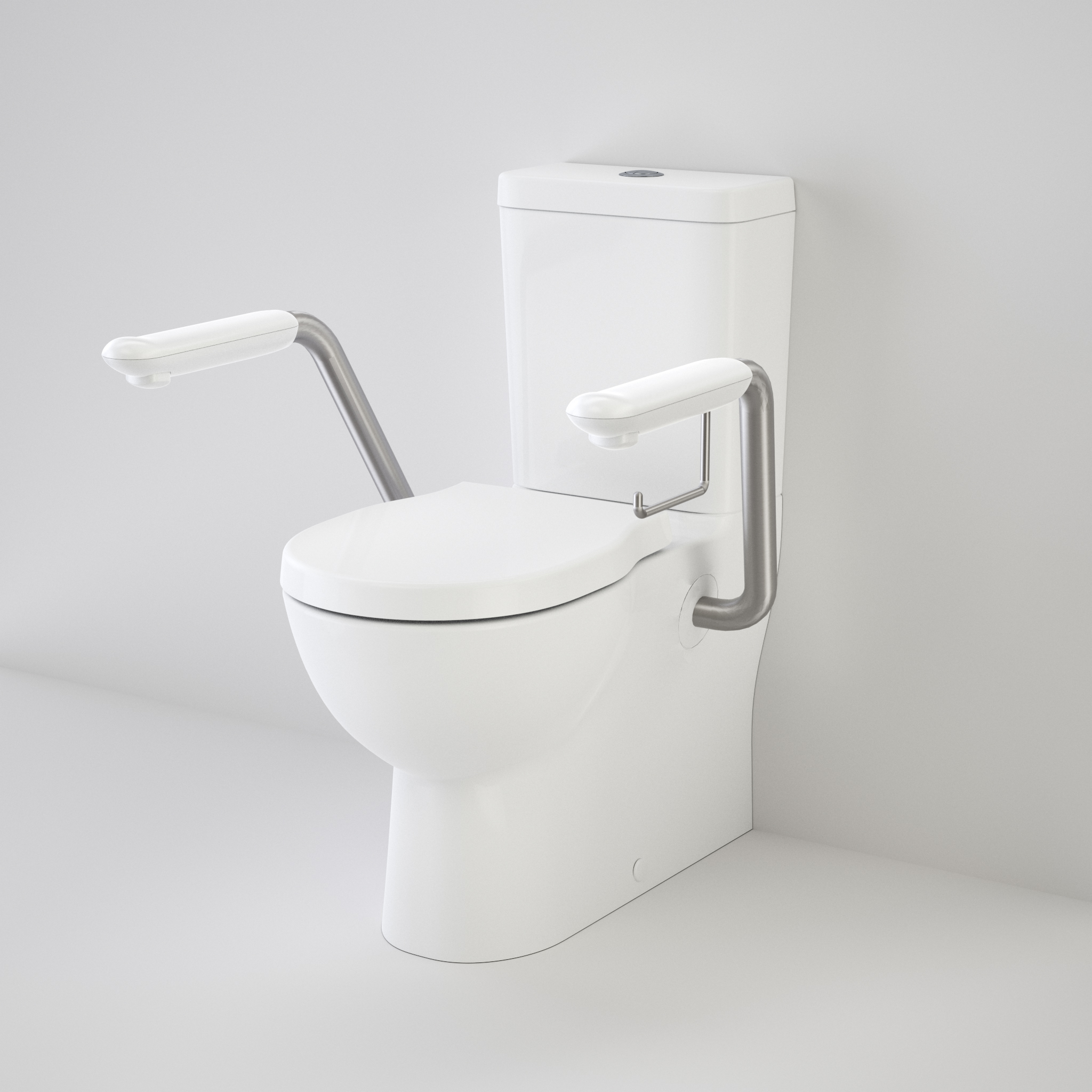 Caroma invisi series ii concealed cistern easy access.