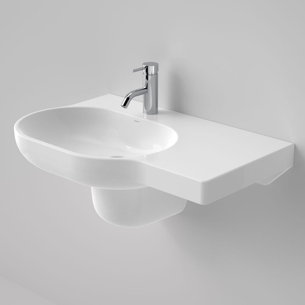 Opal 720 RHS Wall Basin 1TH