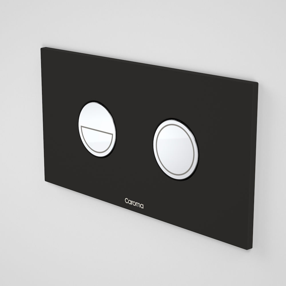 Invisi Series II® Round Dual Flush Plate & Buttons (Metal)
