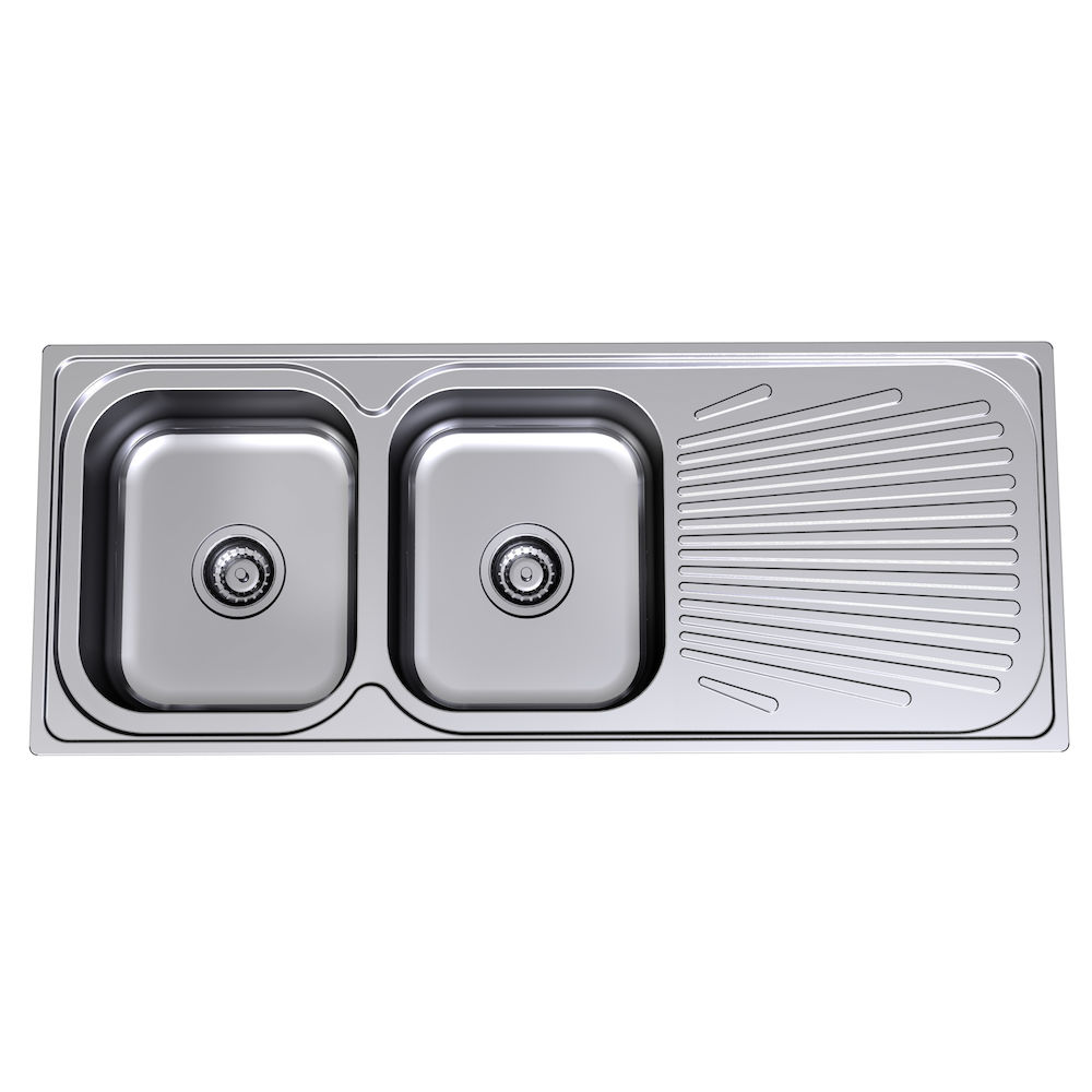 Admirable Vital Double Left Hand End Bowl 1 Tap Hole Clark Download Free Architecture Designs Osuribritishbridgeorg