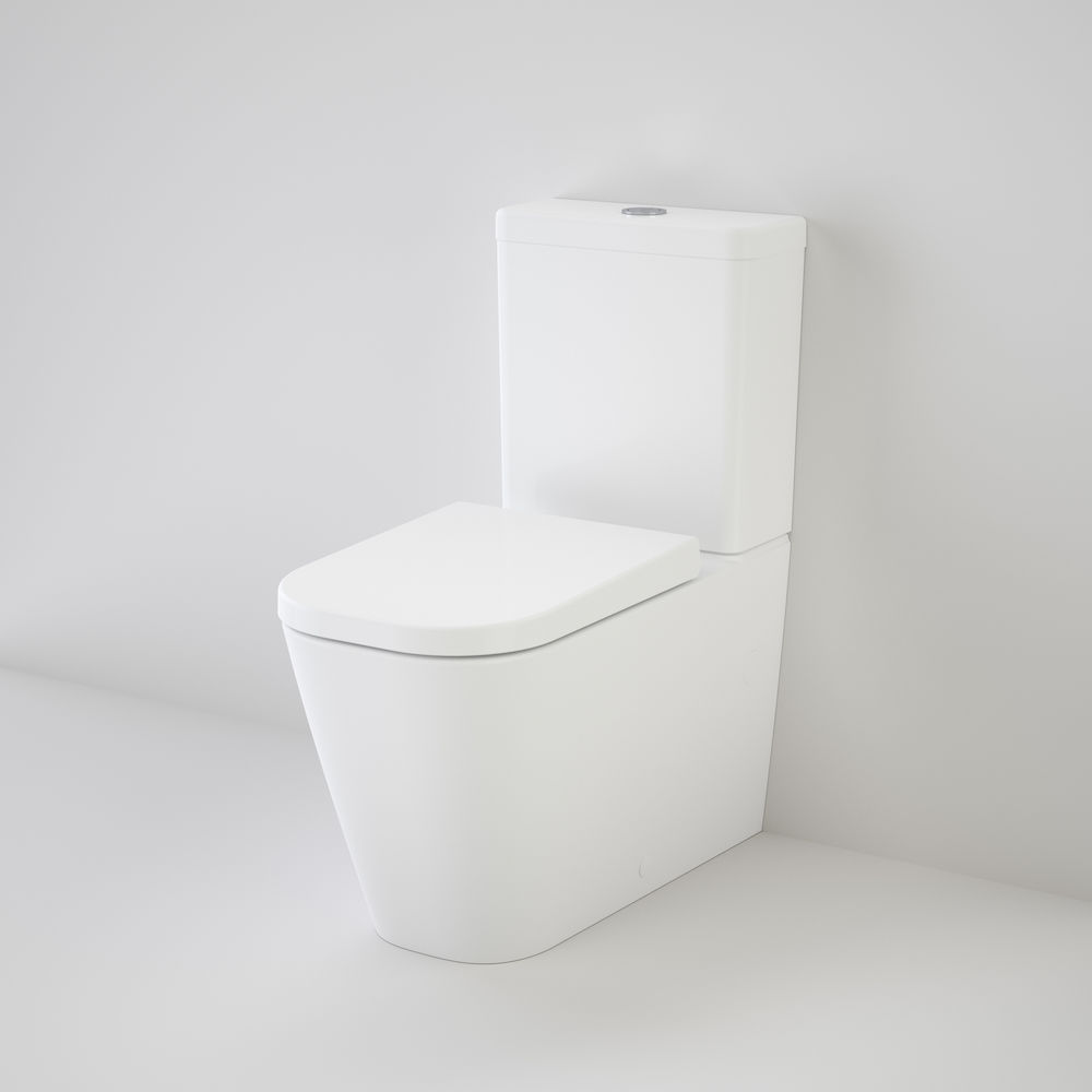 Luna Square Cleanflush® Wall Faced Toilet Suite