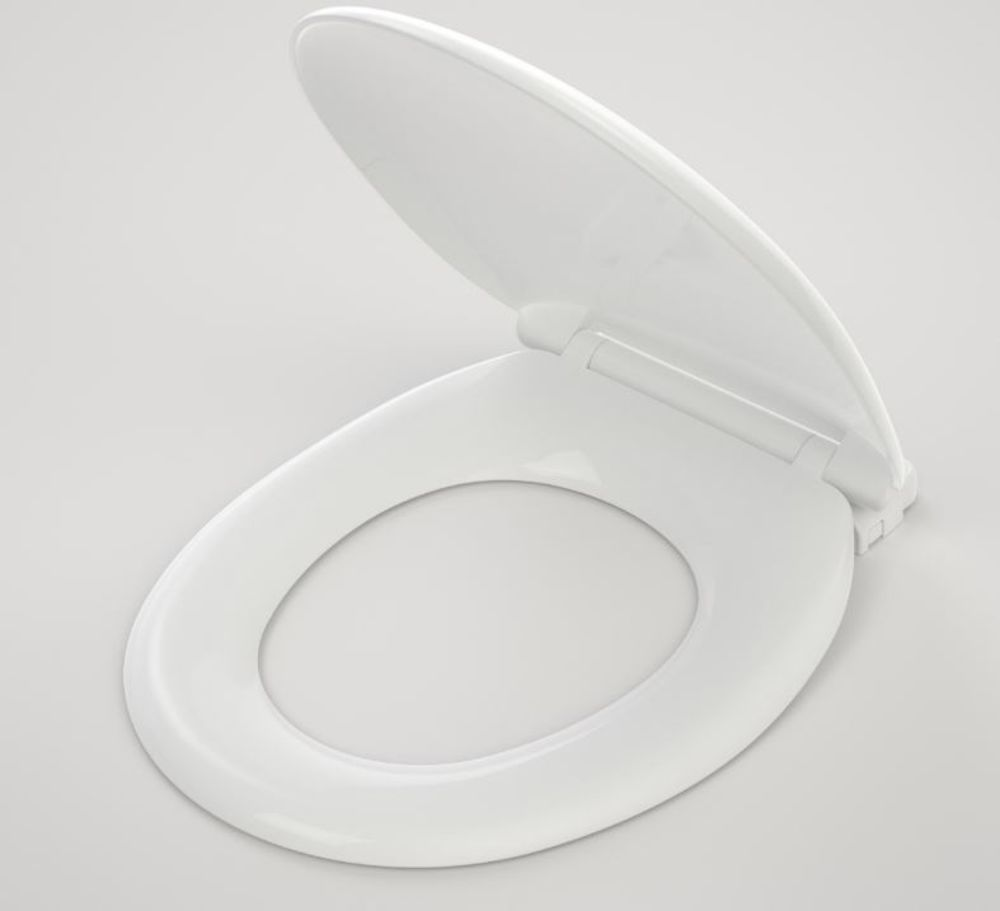 Caravelle Seat Normal Close Quick Release White