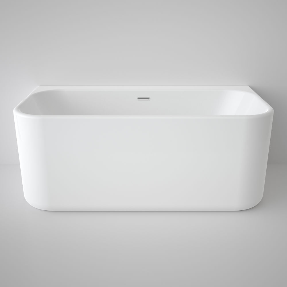 Contemporary Back to Wall Bath 1400