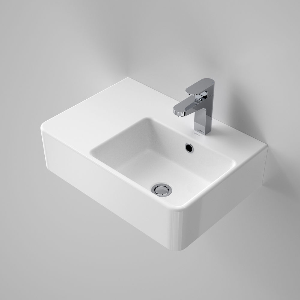 Cube Extension Wall Basin LHS 1TH