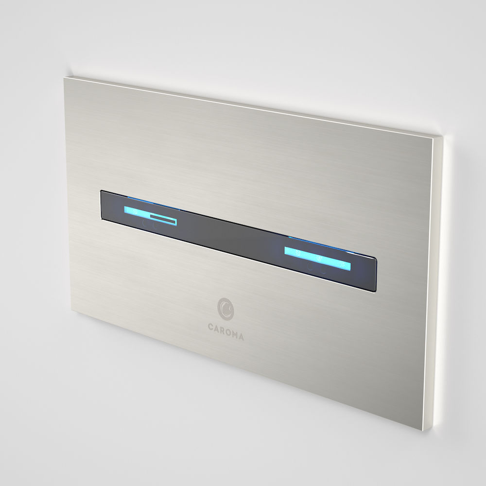 Smart Command Invisi II Panel - Brushed Nickel