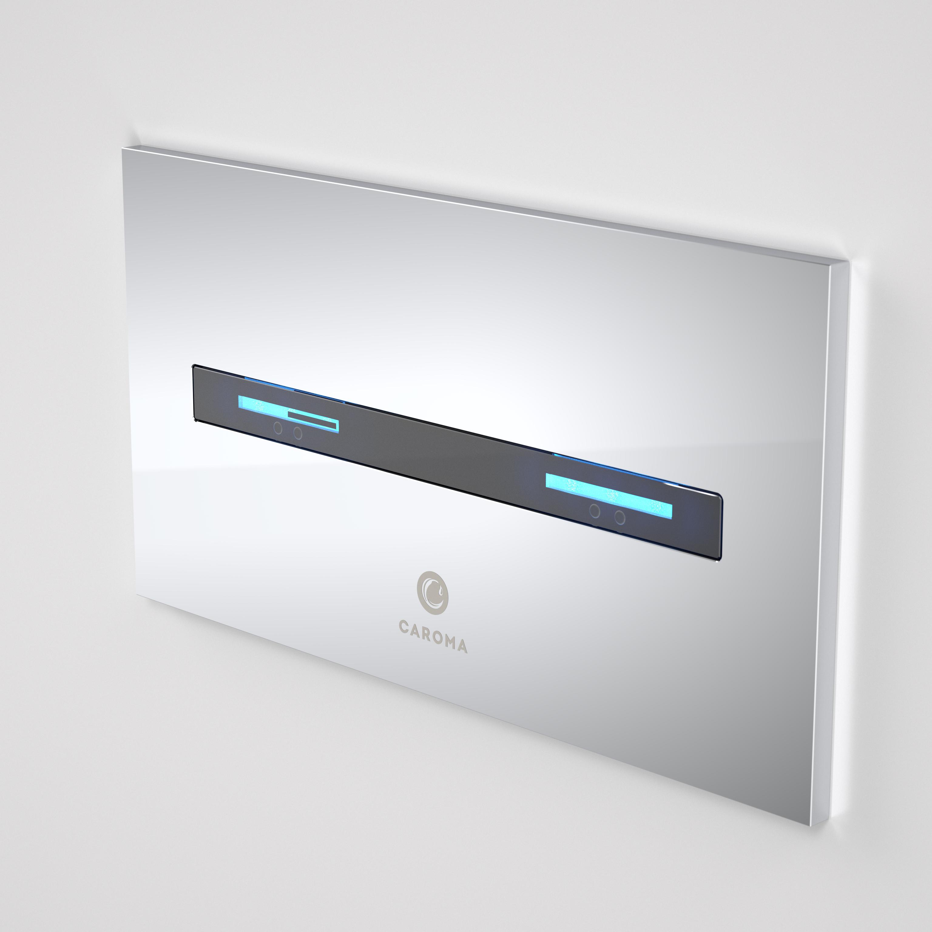 Smart Command Invisi II Panel - Chrome