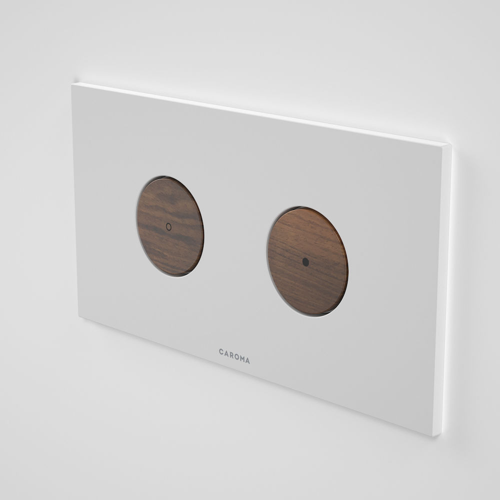 Elvire Invisi Series II ® Round Dual Flush Plate & Buttons