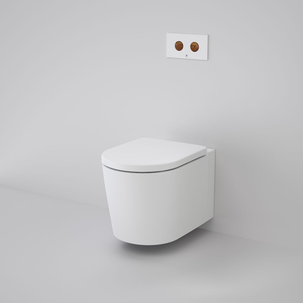 Elvire Cleanflush® Invisi Series II® Wall Hung Toilet Suite